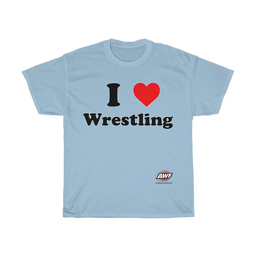 I Heart Wrestling T-Shirt