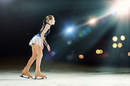 Patineuse professionnelle
