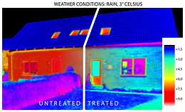 Dry wall = better insulating wall