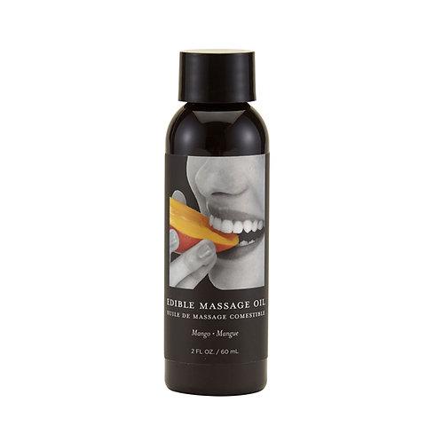Aceite para masajes comestible 60 ml. Sabor a Mango
