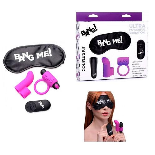 """Kit """"Bang Me¡"""" funda para dedo + anillo"""