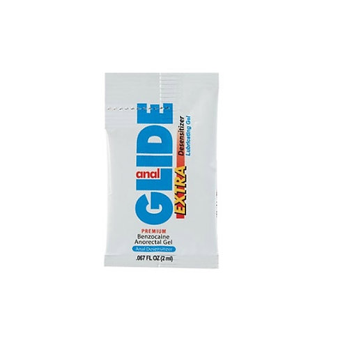 Sachet lubricante Desensibilizante Anal Glide