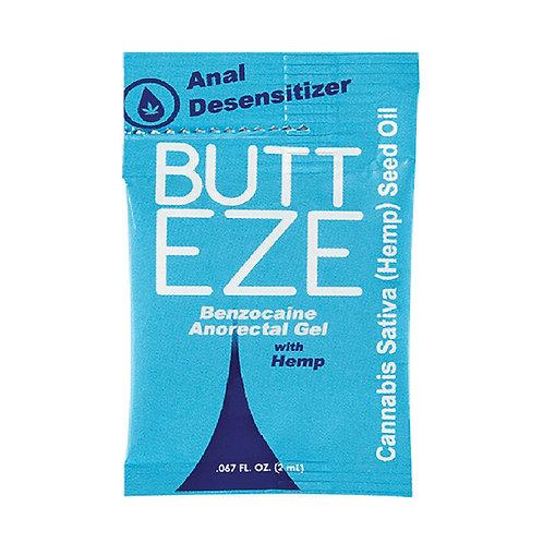 Sachet de Lubricante Butt Eze Anal Desensibilizador 2 ML.