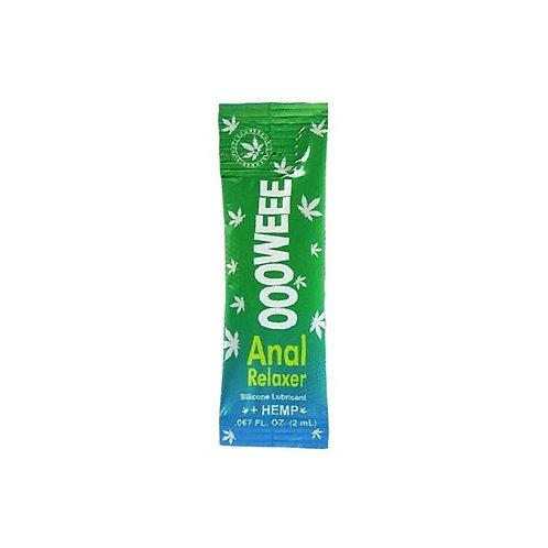 "Sachet Lubricante relajante anal ""OOOWEEE"" - Marca Body Action - 2 ml."