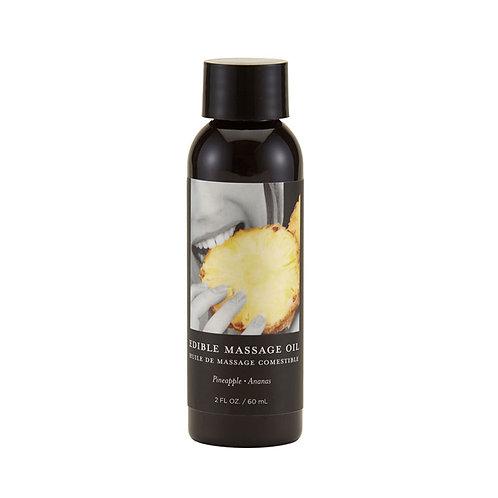 Aceite para masajes comestible 60 ml. Sabor a Piña