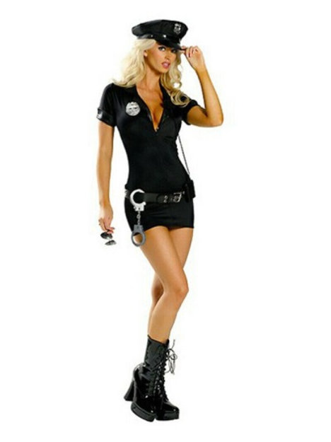 Disfraz de Policia - Talla M