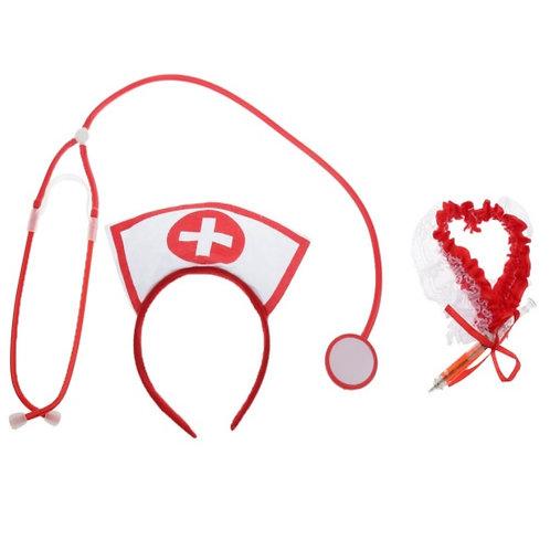 Accesorios para disfraz de enfermera