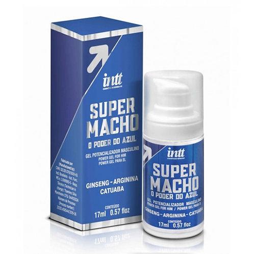 """Gel potenciador """"Super Macho"""" 17 ml. - Marca Intt"""