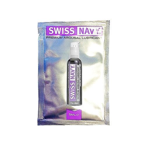 Sachet de Lubricante Excitación Swiss Navy 5 ml.