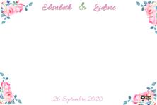 MARIAGE  Elisabeth et Ludovic