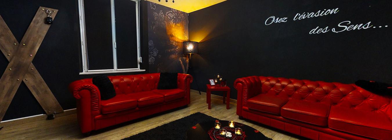 Le salon de la chambre des secrets