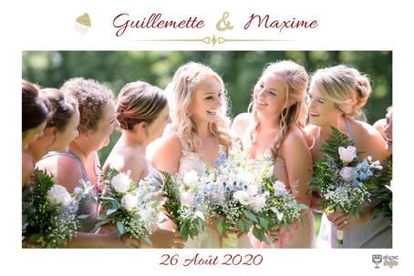 MARIAGE Guillaumette et Maxime