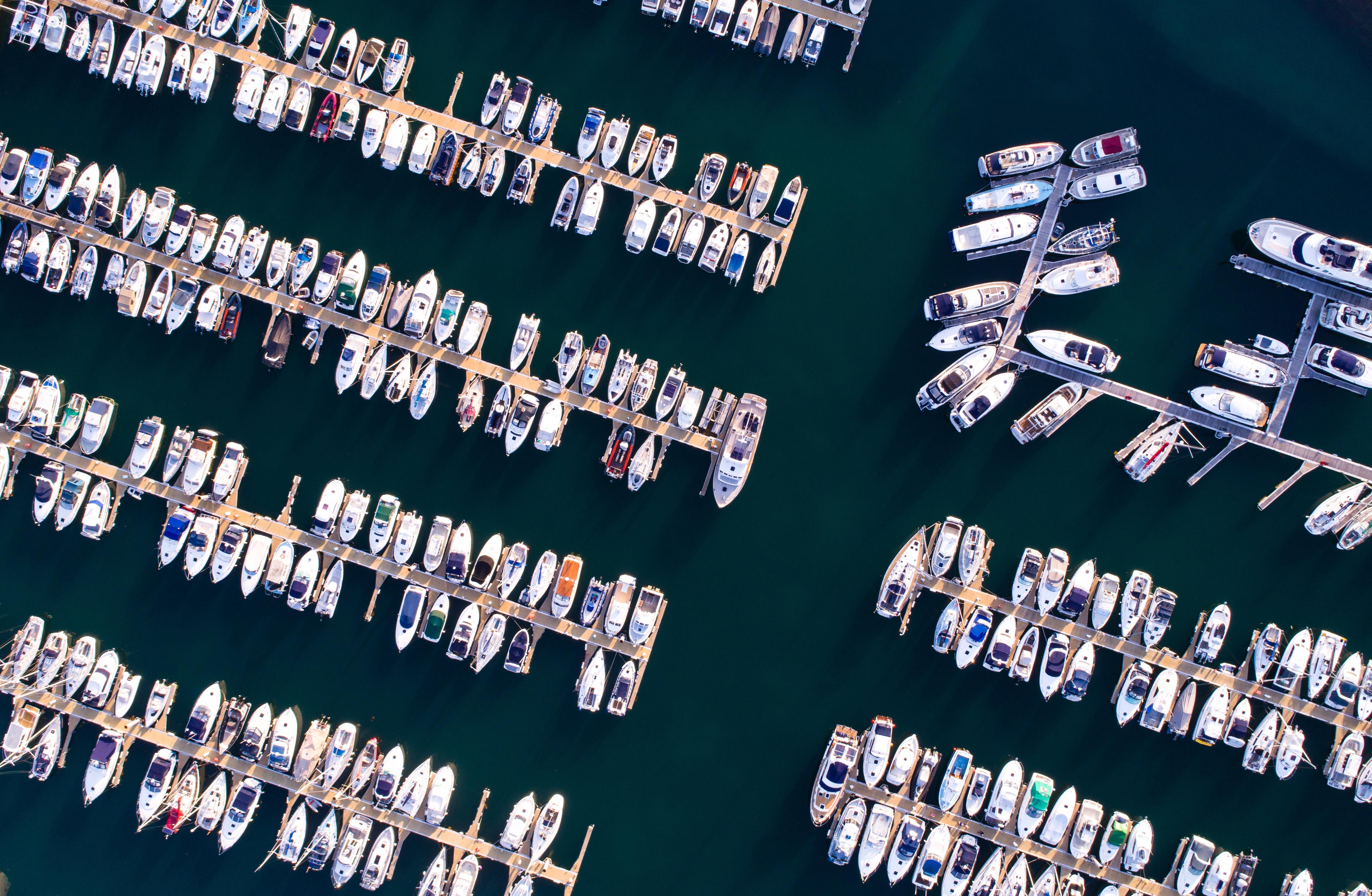 01 - Vue aérienne Port