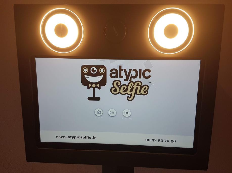 Ecran - Borne Atypic Selfie