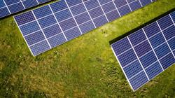 09 - Vue aérienne Panneaux Solaires