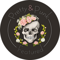 Pretty & Punk Featured badge black.png
