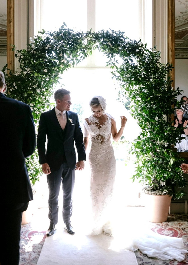 Real wedding - real wedding arch