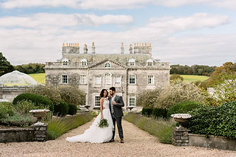 Came House dorset wedding real trees