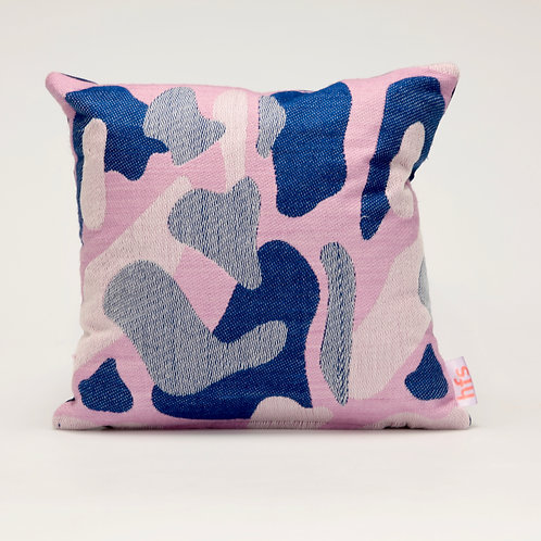 Flora & Fauna Handwoven Cushion
