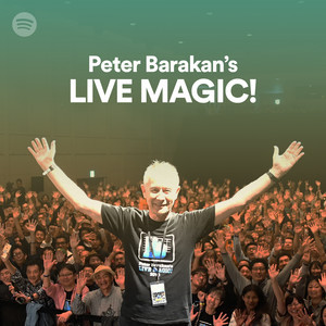 SpotifyでLIVE MAGIC!のプレイリスト公開!