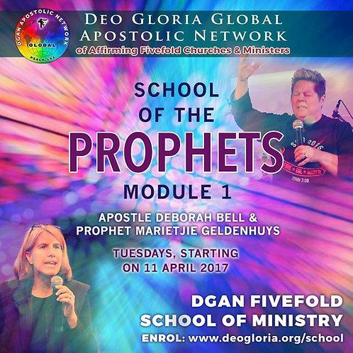 School of the Prophets - Module 1