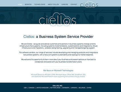 Ciellos website