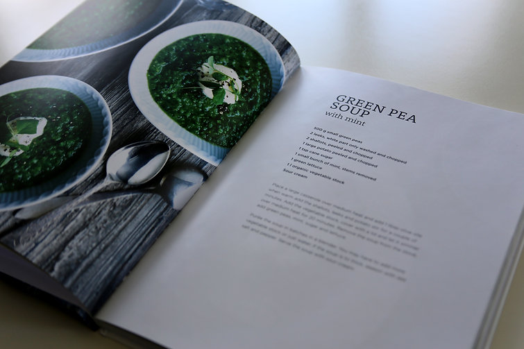 cookbook designed by christina rosendahl
