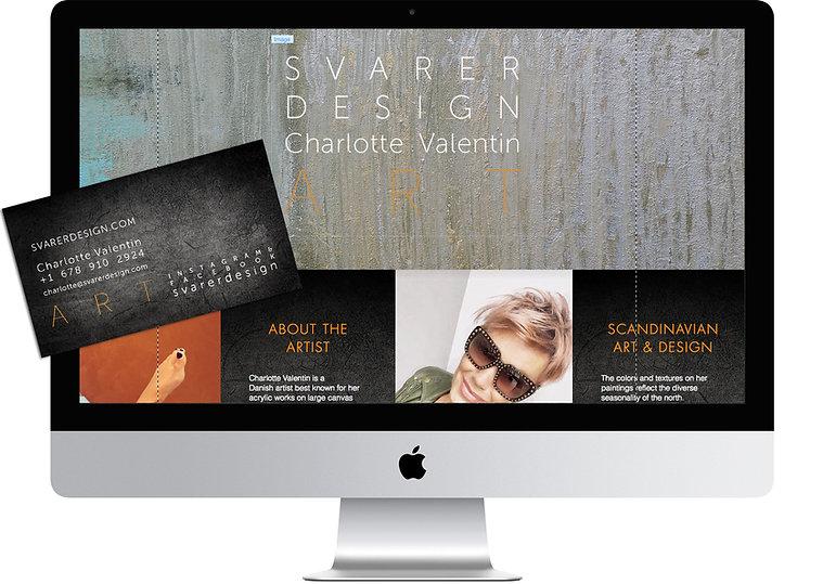 Svarer Design website