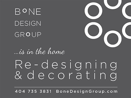 Sandy Bone design group Yard sign
