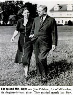 Jane and Harold Ickes