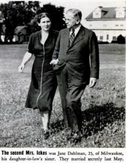 Jane and Harold Ickes