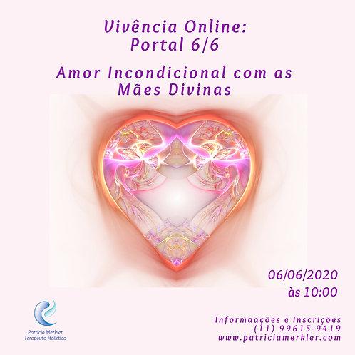 Vivência Amor Incondicional com as Mães Divinas