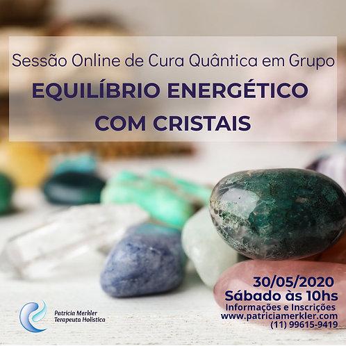 Sessão de Equilíbrio Energético com Cristais
