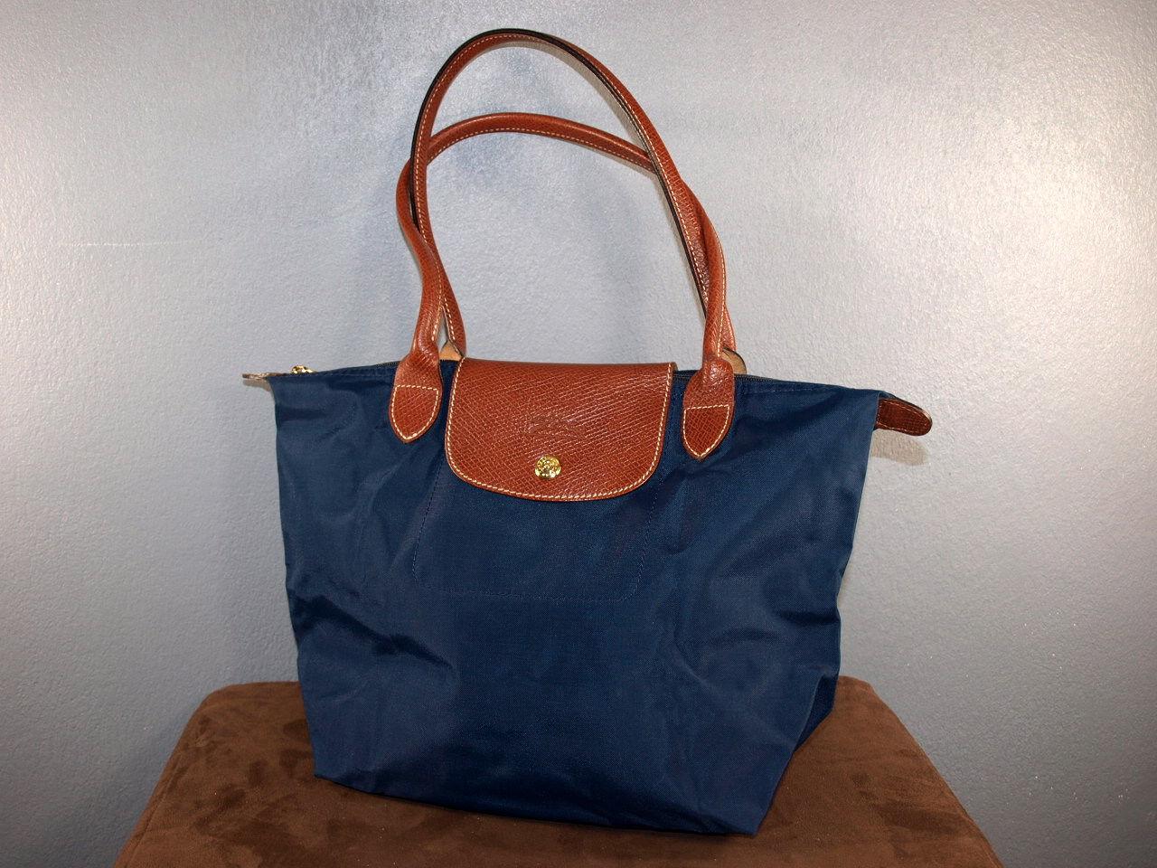 Sac Longchamps Pliage Bleu Marine