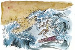 Nirvana Surfer