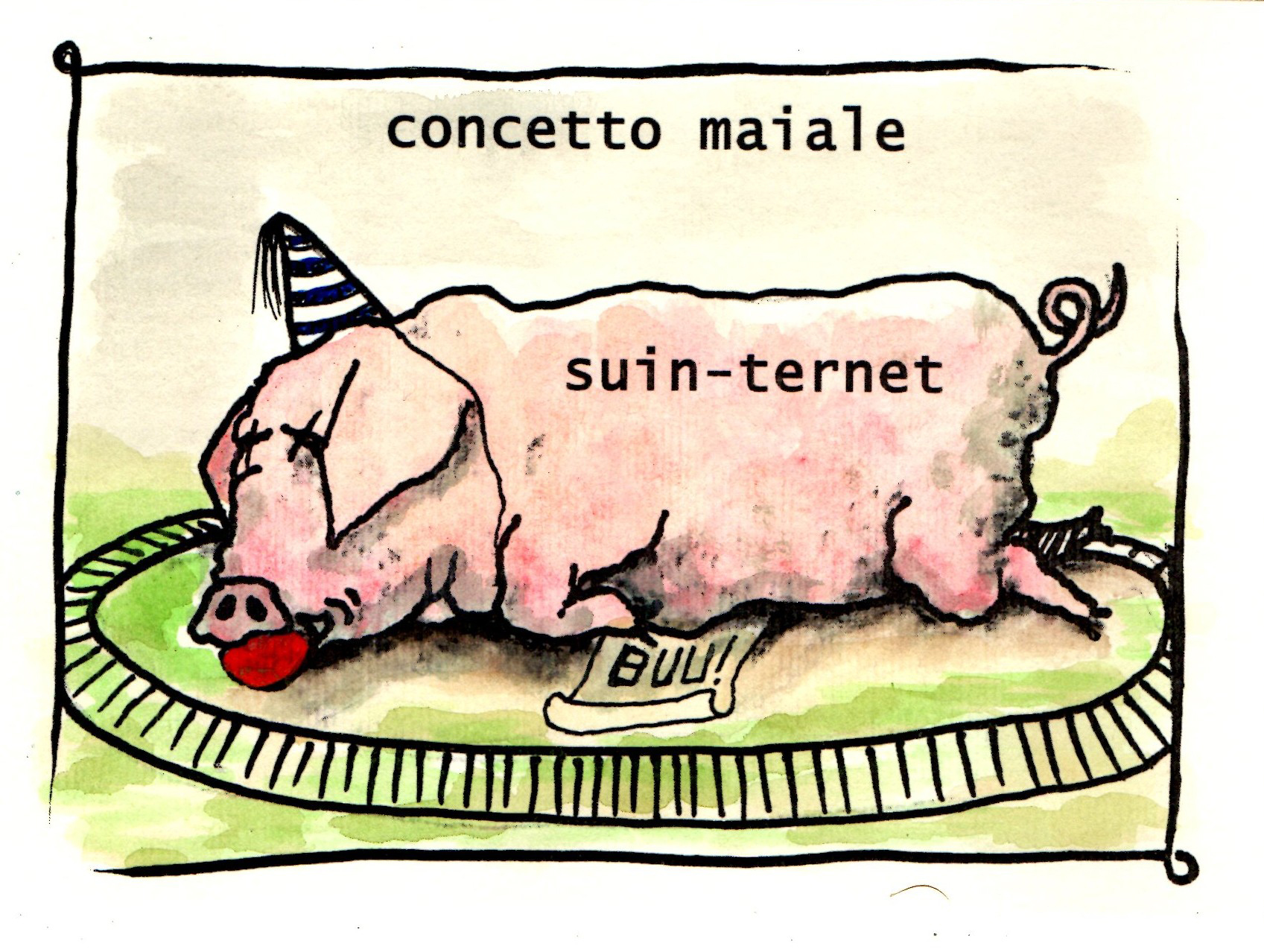 Concetto Maiale