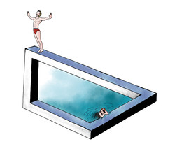piscina illusoria