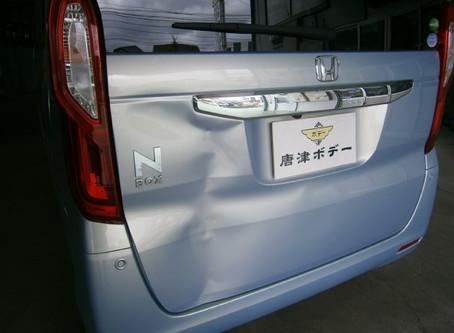 N-BOX JF3 鈑金塗装 修理