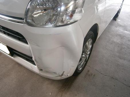 タント 事故修理