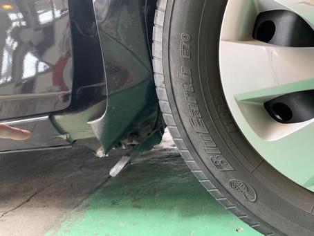ヴィッツ NSP130 鈑金塗装 修理