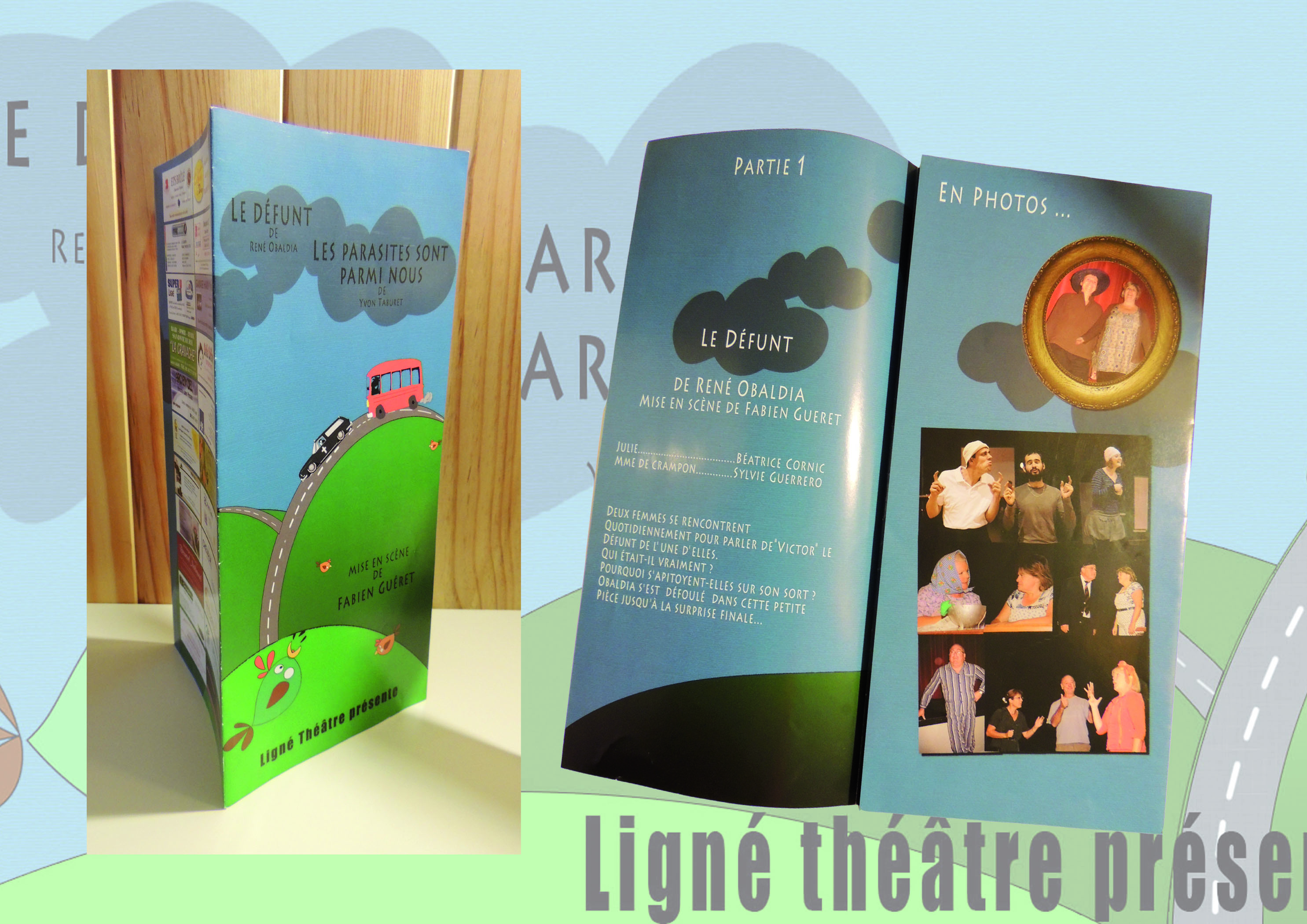 affiche et flyer theatre