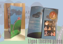 affiche et flyer theatre