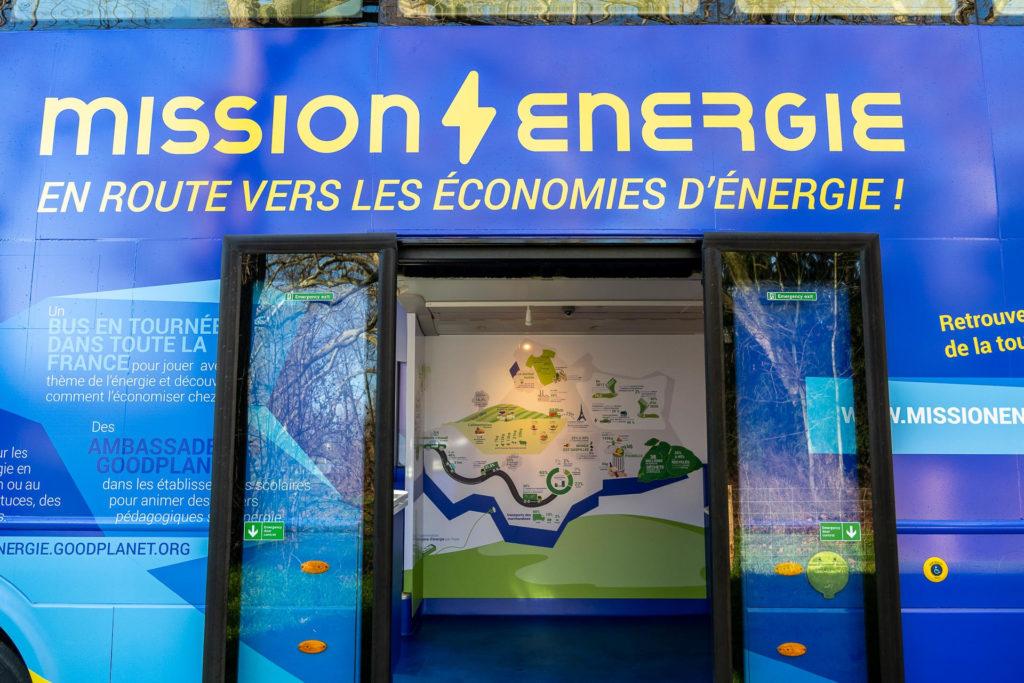 Création du graphisme- projet Bus Mission Energie