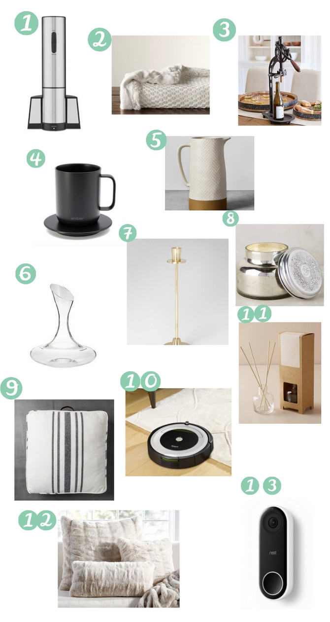 Holiday Gift Guide- Gifts for the Home