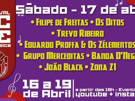 Programação Festival ECDE 17/04