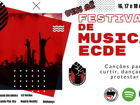 Radio ECDE apresenta nosso Festival de Música