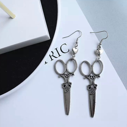 Jade's Scissors Earrings