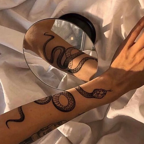 Snake Temporary Tattoo