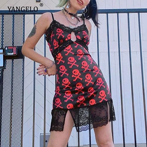 Demonic Slip Dress