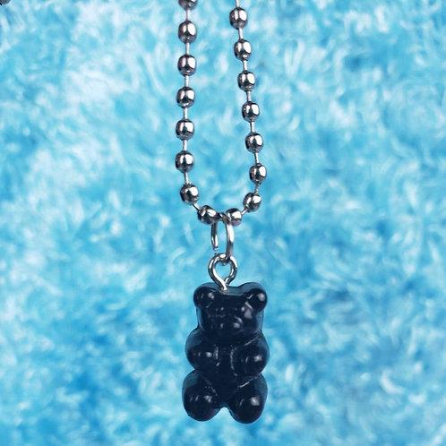 Black Gummy Bear Neckace